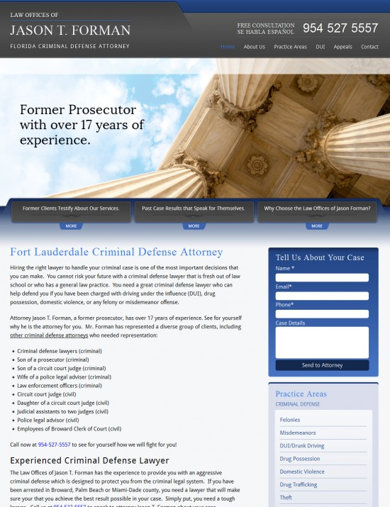 Fort Lauderdale Criminal Defense Attorney